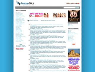 articleblot.com screenshot