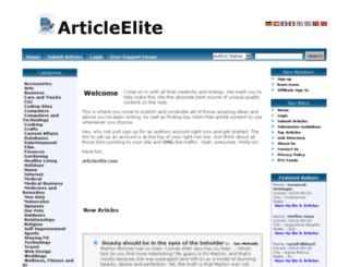 articleelite.com screenshot