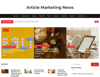 articlemarketingnews.com screenshot