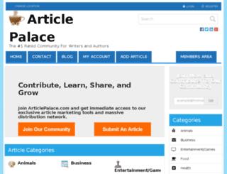 articlepalace.com screenshot