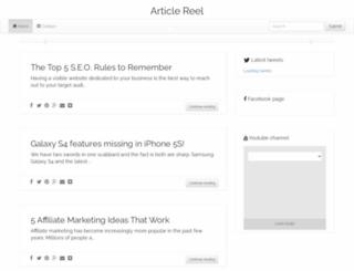 articlereel.com screenshot