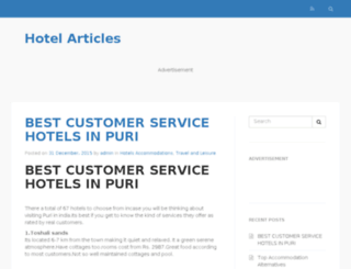 articles-a-hotel.com screenshot