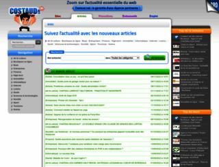articles.costaud.net screenshot