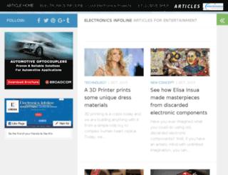 articles.electronicsinfoline.com screenshot