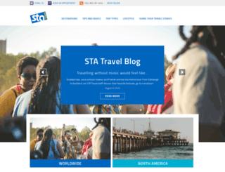 articles.statravel.com screenshot
