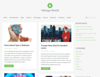 articles.yebogo.com screenshot