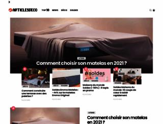 articlesdeco.com screenshot
