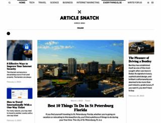 articlesnatch.com screenshot