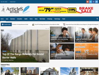 articlesriver.com screenshot