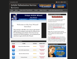 articlesubmissionreviews.com screenshot