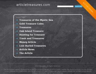 articletreasures.com screenshot