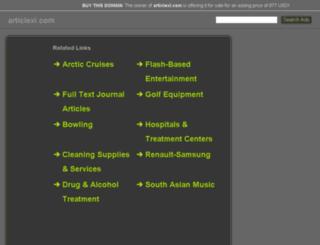 articlexi.com screenshot