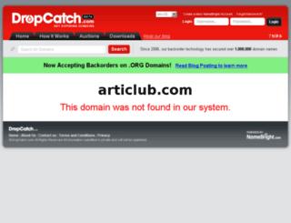 articlub.com screenshot