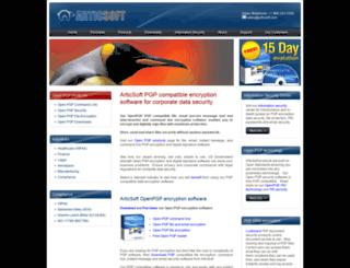articsoft.com screenshot