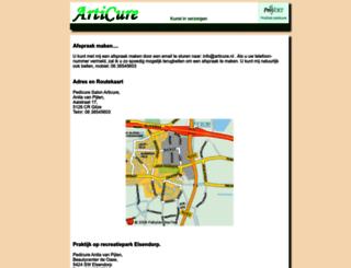 articure.nl screenshot