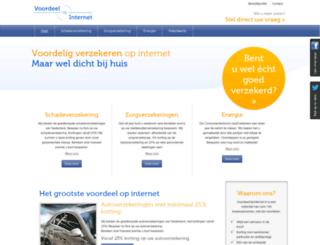 artifex-verzekeringen.voordeelopinternet.nl screenshot
