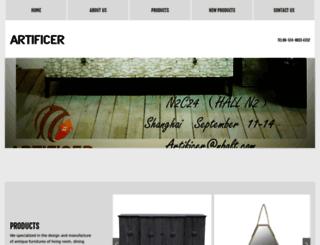artificer-fur.com screenshot