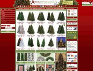artificialchristmastree.co.uk screenshot