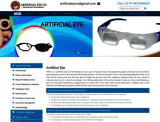 artificialeyeco.com screenshot