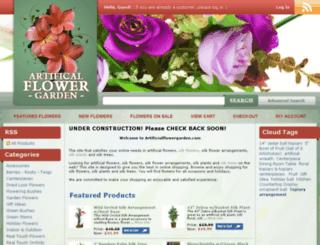 artificialflowergarden.com screenshot