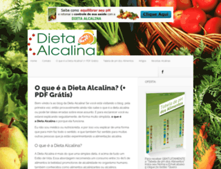 artigos.dietaalcalina.biz screenshot