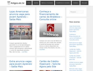 artigos.etc.br screenshot