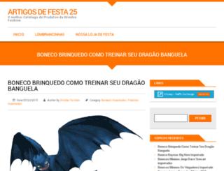 artigosdefesta25.com.br screenshot