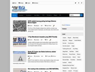 artikel-luarbiasa.blogspot.com screenshot