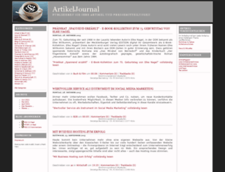 artikeljournal.de screenshot