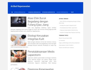 artikelkeperawatan.info screenshot