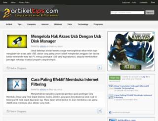 artikeltips.com screenshot