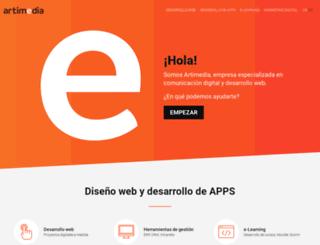 artimedia.es screenshot