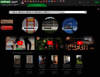 artimex-sport.com screenshot