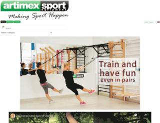 artimexsport.com screenshot