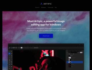 artipic.com screenshot
