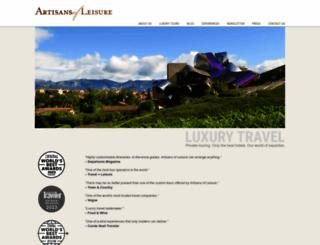 artisansofleisure.com screenshot