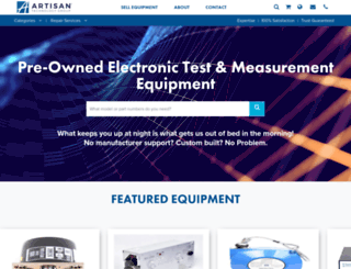 artisantg.com screenshot