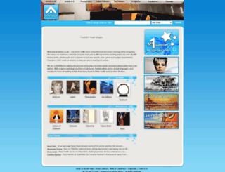artist.co.uk screenshot