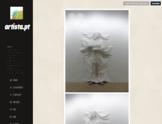 artista.pt screenshot