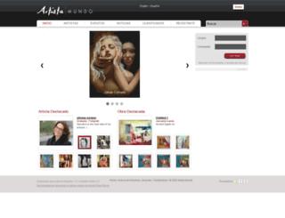 artistamundo.com screenshot