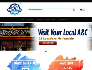 artistcraftsman.com screenshot