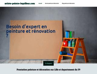 artiste-peintre-lequilleuc.com screenshot