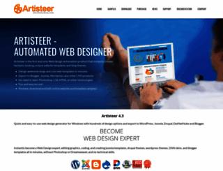 artisteer.com screenshot