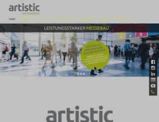 artistic.de screenshot