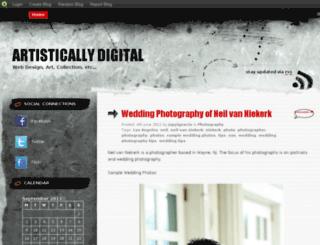 artisticallydigital.blog.com screenshot