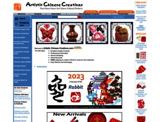 artisticchinesecreations.com screenshot