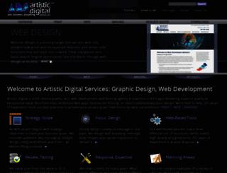 artisticdigital.com screenshot