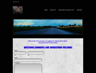 artisticinnature.weebly.com screenshot