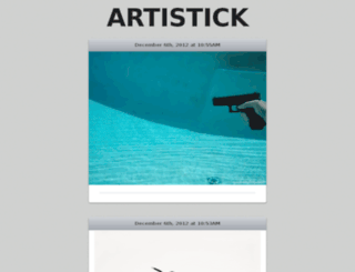 artistick.ro screenshot