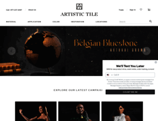 artistictile.com screenshot